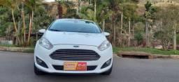 Ford new fiesta hacht branco completo modelo titaniun motor 1.6 ano 2015