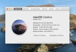 """Macbook Pro 13"""" Core i7 ! Com 12 GB de RAM"""