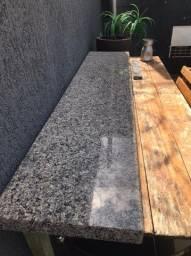 Pedra mármore Balcão 2 metros por 40cm nova sem detalhes