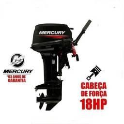 Motor Mercury 15HP Super - Pronta Entrega