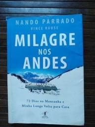 Título do anúncio: Livro Milagre nos Andes