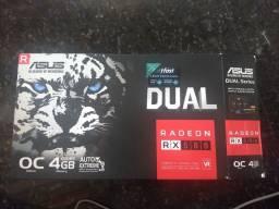 Placa de vídeo Asus RX580 4Gb