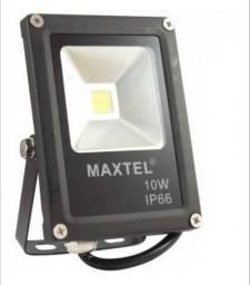 Título do anúncio: Refletor Maxtel Led 10w Branco 6000k Bivolt