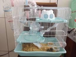 Gaiola hamster safari 3 andares