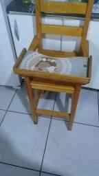 Cadeirinha de alimentação R$80