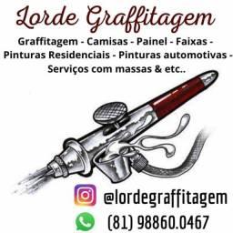 Graffitagem,Letreiro,Pinturas & Etc