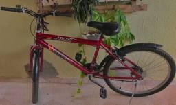 Bike Aro 26 com brinde