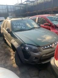Veículo Fiat Palio Weekend Adventure 2017 Para Retirada de Peças