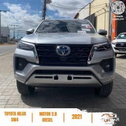 Título do anúncio: Toyota Hilux SW4 - SRX - 2021 - Pronta Entrega - JBL - 0Km - Prata
