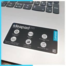 Notebook IdeaPad 330 Core I7-8550U FullHD GeForce MX150 Ssd 240GB + HD 1TB 8GB Ram 15.6