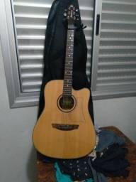 Vendo violão + CAPA+BRAÇADEIRA!650,00