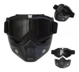 Máscara óculos motociclistas motocross