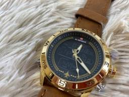 Relógio em couro - Original Naviforce