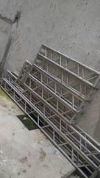 Estrutura em alumínio p25