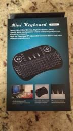 Mini teclado para tv smart