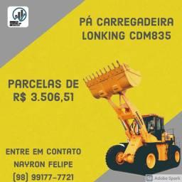 PÁ CARREGADEIRA LONKING CDM835