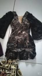 Vestido de grife $50,00cada e uma saia nova $20,00.