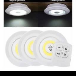 Luminária de led com controle