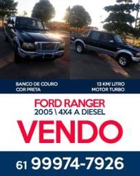 Vendo Ford Ranger / Ano 2005 - Motor Turbo