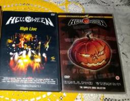 2 Dvds Helloween - Hellish Videos + High Live
