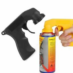 Pistola lata spray grip de mão pintura