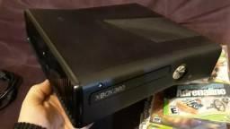 Xbox 360 Slim Desbloqueado 2 Controles Kinect + Live Netflix