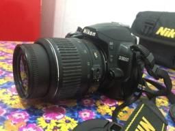 Câmera Profissional Nikon D3000