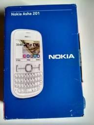 Celular Nokia Asha 201 (novo)