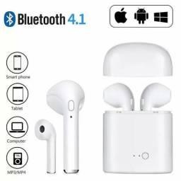 Fone de Ouvido Bluetooth Sem Fio I7s Tws Plus Celular Phone. Link na descrição ??