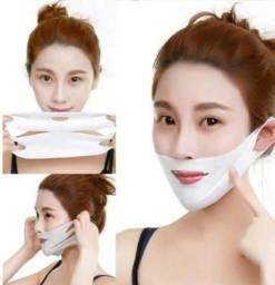 Mascara facial efeito lifting define queixo reduz papada