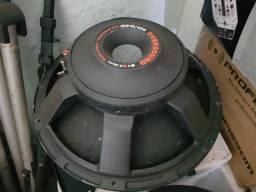 Par de Auto falantes Oversound Sub MB 15 450 rms