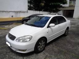 Corolla 2003 Automático XEI 1.8 Completíssimo Licenciado 2019 Carro De Garagem - 2003