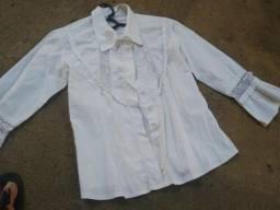 Blusa branca p sei revellion