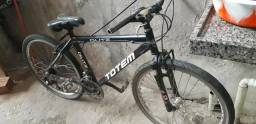 Vendo bicicleta totem, quadro de alumínio.