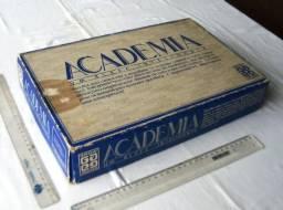Brinquedo Raridade Anos 80 - Jogo de Tabuleiro - Academia - Grow - Completo