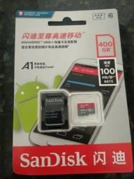 Cartão Memoria Sandisk Micro Sd Sdxc Ultra 400gb - Original