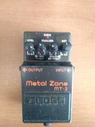 Pedal de Guitarra - Boss Metal Zone MT2