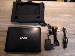 DVD/CD/TV/RADIO Portátil Ideal para banco do carro