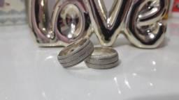 Aliança de prata