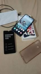 Vendo Galaxy A20s semi novo