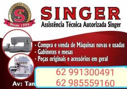 Assistência técnica autorizada em máquinas de costura industrial e doméstica