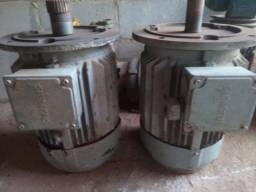 2 motores de flange 10 cv trifasico de alta