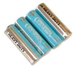 Pilha (palito) Alcalina 1.5v Universal Eletronics C/16 Un