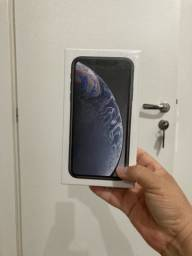 iPhone XR 128 g novo cor preta