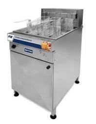 Fritadeira elétrica industrial 44 litros alta produção - lucas