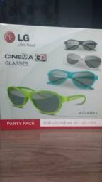 Óculos 3D LG Original Novos