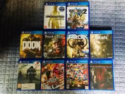 Jogos de PS4- 40 cada