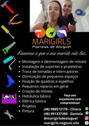MariGirls - Maridas de Aluguel - Faz tudo