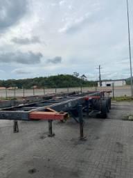 Carreta Porta Container (bugao) 20/40
