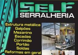 Serralheria e estruturas metálicas!